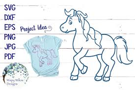 Looking for horse outline drawing psd free or illustration? Horse Outline Graphic By Wispywillowdesigns Creative Fabrica