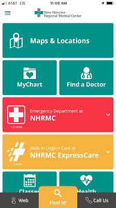 My Chart New Hanover Nhrmc Smartphone App To Help Patients And Visitors With