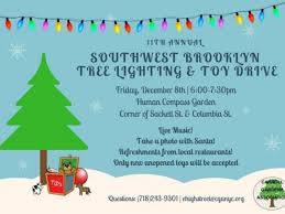 dec 8 southwest brooklyn holiday tree lighting carroll gardens cobble hill ny patch