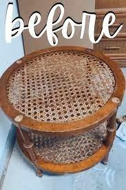 how to refinish rattan furniture