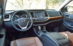 2018 toyota highlander interior. delighful interior 2018 toyota highlander engines with toyota highlander interior 8