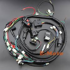 full wiring harness loom ignition coil cdi ngk for cc cc full wiring harness loom ignition coil cdi ngk for 150cc 200cc 250cc 300cc zongshen lifan atv