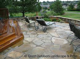 flagstone patio cost. Interesting Patio Amazing Flagstone Patio Design Ideas What About Composite Wood Steps  Leading To A Cost With
