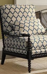 chair fabric. custom bobbin chair in a great contemporary wake-up fabric. reupholster with this fabric e