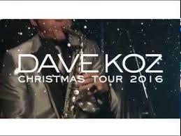 Dave Koz Christmas Tour 2016 - Cobb Energy Centre - December 2 ...