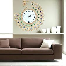 splendid design ideas large decorative wall clocks living room big for antique silver clock wooden extra