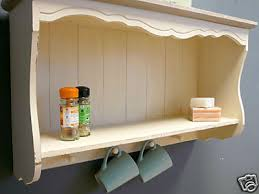 Country Ash Range  Cream Wall Shelf  Shabby Chic Shelves Country Style Shelves
