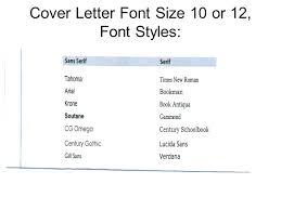 Cover Letter Styles Cover Letter Styles Cover Letter Font 2015