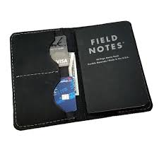 black leather vespa field notes journal cover scooter gifts