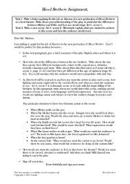 brothers essay questions blood brothers essay questions