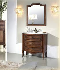 Vanities Antique Single Vanity Calvario Antique Bathroom Vanity Set 32