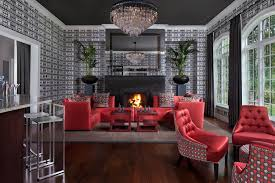 art deco living room with high ceiling icon barstool chandelier arched window  on art deco living room wallpaper with art deco living room home design ideas