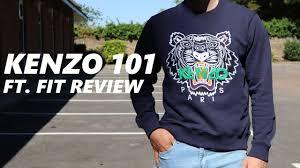 Kenzo Size Chart Kenzo 101 Kenzo Sweatshirt Fit Review Unboxing