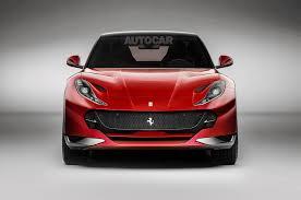 Ferrari Plug In Hybrid Test Mule Spotted Before 2019 Production Autocar