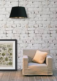 Whitewash Brick Wallpaper from Kemra