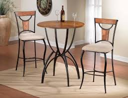 Table Height Stools Kitchen Furniture Enjoy Your Dining Time With Bistro Table And Chairs