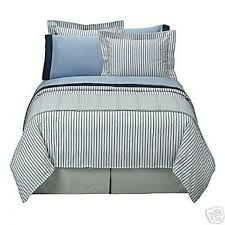 details about thomas obrien king duvet cover modern vintage new stripe red blue white o brien