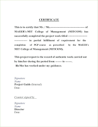It Project Completion Certificate Sample Best Of Certificate