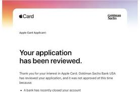 I would like to know your thoughts about this. Apple Details Why Some Apple Card Applicants Might Get Declined Macrumors
