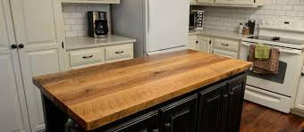 countertops table tops and bar wood kitchen for wooden plans 17