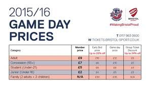 flyers ticket prices flyers 2015 16 ticket prices announced bristol flyers