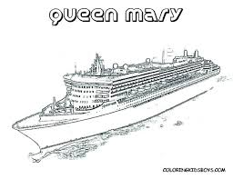 Disney Cruise Ship Coloring Pages To Print Ships Page Fl Pag