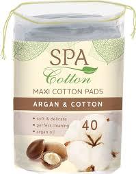 <b>Spa Cotton Ватные диски</b> Argan, 40 шт — купить в интернет ...