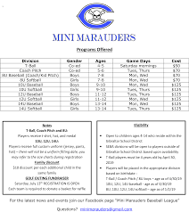 Mini Marauders