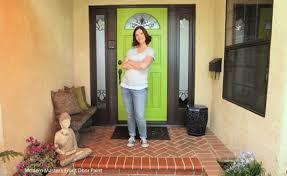 painting front doorFront Door Paint Colors and How to Paint an Exterior Door