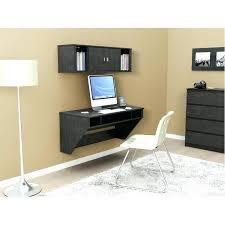 floating desk with storage designer wall mounted floating hutch black 1 white floating desk with storage