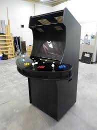 Hand Made 4 Player Arcade Cabinet by Isaac & Edwards | CustomMade.com