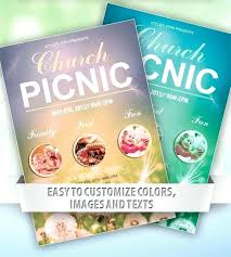 Picnic Flyer Template Publisher Magdalene Project Org