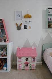 Pink And Grey Girls Bedroom A Mint Girls Bedroom With Touches Of Grey Pink Mustard