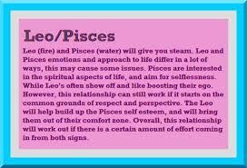 Pisces And Leo Relationship Smart Talk About Love Pisces