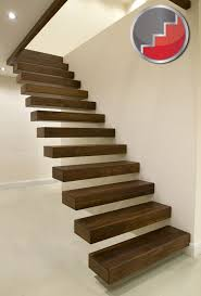 Charming Floating Stairs Design Floating Staircases Black Walnut Floating  Staircase