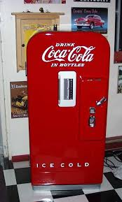 1950 Vendo 39 Coca Cola Vending Machine Gorgeous George's Custom Paint And Nostalgia Station