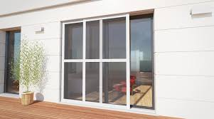 luxe sliding fly screen for patio doors recess fit