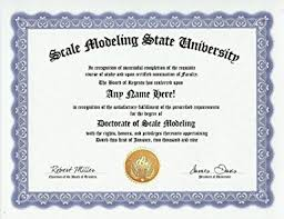 com scale modeling scale models modeler degree custom gag  scale modeling scale models modeler degree custom gag diploma doctorate certificate funny customized joke