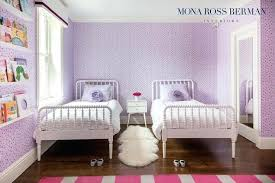 Bedroom design for girls purple Small Purple Girls Room Purple Girls Bedroom Features Walls Clad In Purple Floral Wallpaper Lined With Purple Girls Room Room Designs Merrilldavidcom Purple Girls Room Ad Awesome Purple Girls Bedroom Designs Teenage