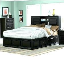 Queen Bed Frame With Storage Underneath Size S Leather Platform ...