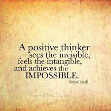 Passing Thoughts.. Positive thinking vs Negative thinking ...