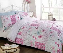 shabby chic lilac bedding fresh pink duvet quilt cover bedding bed set single double king