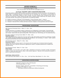 9 Sample Elementary Teacher Resumes Letter Signature