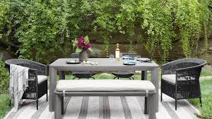 Patio furniture Metal Shop Outdoor Dining And Bar Tables Outdoor Patio Furniture Deck Furniture Arhaus