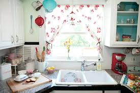 window curtains ideas kitchen low cost white kitchen window curtain ideas with recessed ceiling light over