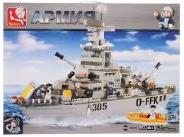 конструктор сторожевой крейсер вмф 577 деталей Sluban M38 B0126 за 1911 рублей