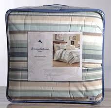upc 883893471351 image for tommy bahama home comforter set queen 4 pc canvas stripe