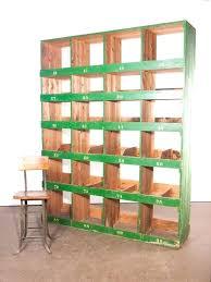 large shelving unit very pigeon hole storage 4 bay wooden units