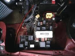 wiring conundrum sunroof locks vid club3g forum mitsubishi you mean this little yellow box