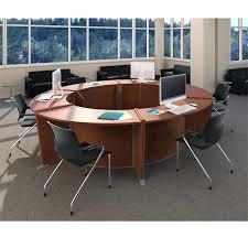 circular office desks. Wonderful Circular Office Desk Workstations Workstation Marque Package Ships Part Throughout Desks R